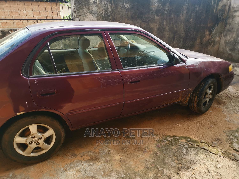Toyota Corolla 1998 Red   Cars for sale in Awka, Anambra State, Nigeria
