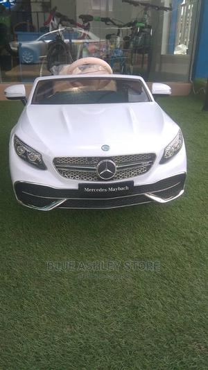 Mercedes Maybach S650 Cabriolet Licensed Ride on Car White   Toys for sale in Lagos State, Alimosho