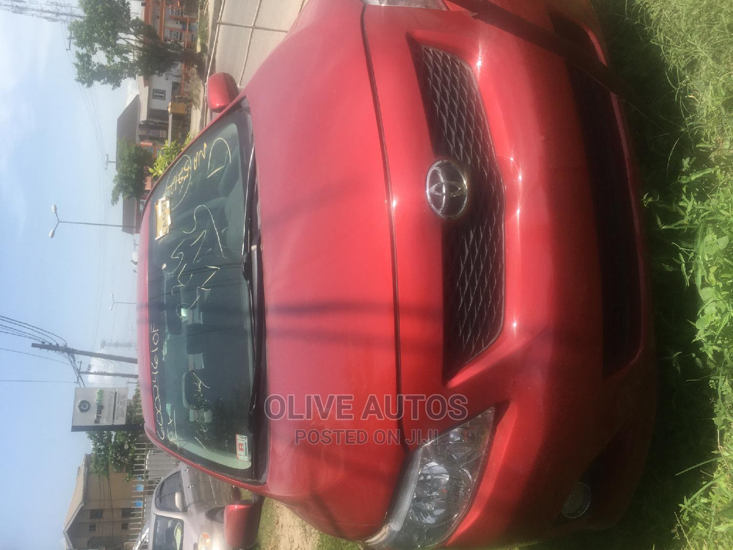 Toyota Corolla 2009 Red | Cars for sale in Ajah, Lagos State, Nigeria