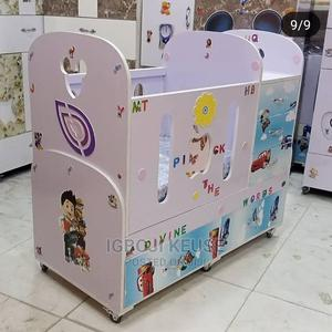 Unqiue Baby Crib (Bed) With Form | Children's Furniture for sale in Lagos State, Lagos Island (Eko)