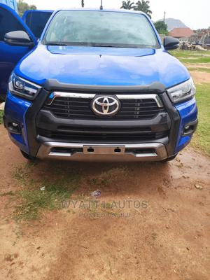 New Toyota Hilux 2021 Blue | Cars for sale in Abuja (FCT) State, Maitama