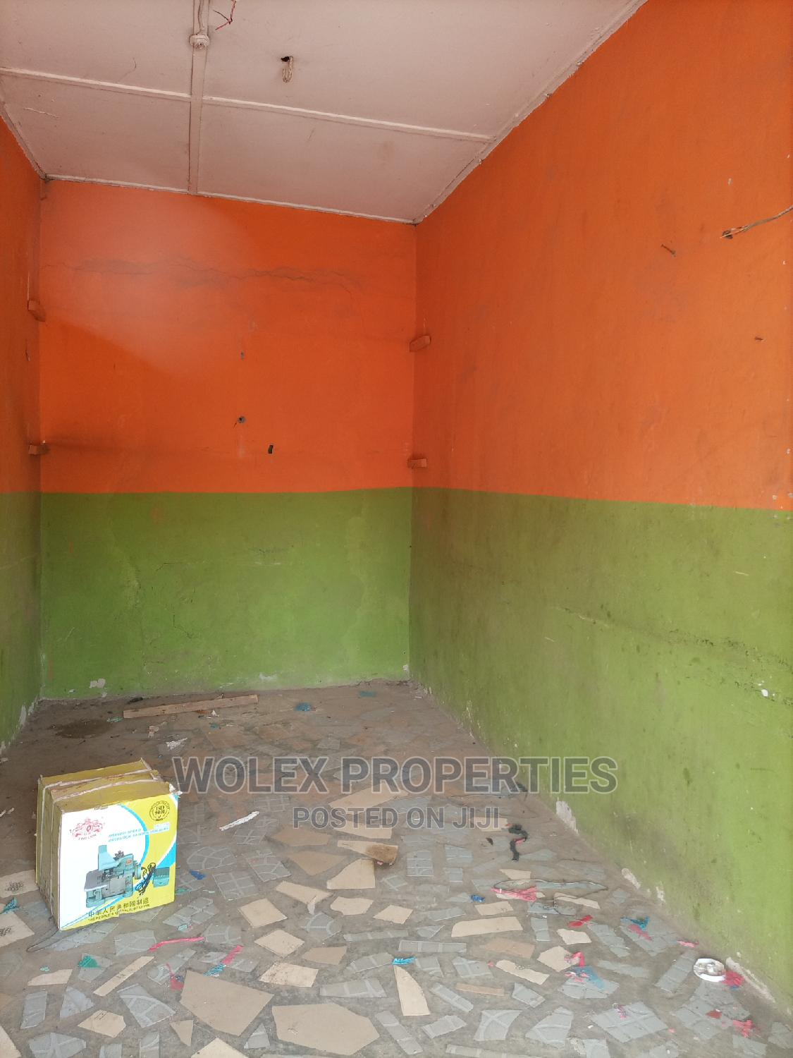 Archive: Shop on Busy Tarred Road at Orelope Egbeda