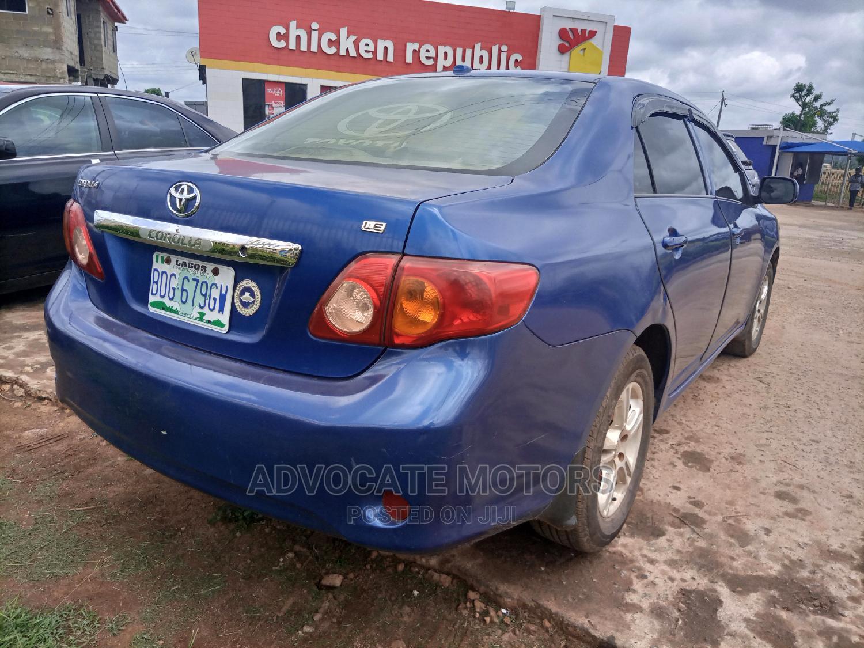 Toyota Corolla 2009 Blue   Cars for sale in Akure, Ondo State, Nigeria