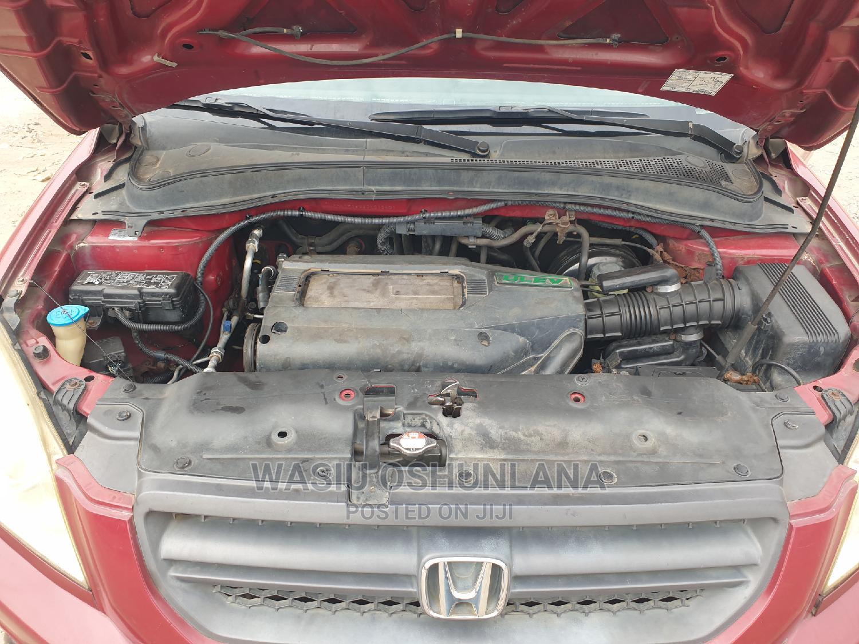 Archive: Honda Pilot 2004 EX-L 4x4 (3.5L 6cyl 5A) Red