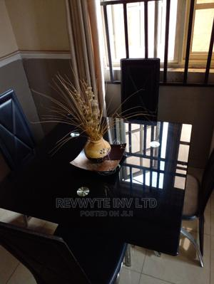Tempered Glass Dining Table and Chairs | Furniture for sale in Delta State, Oshimili South