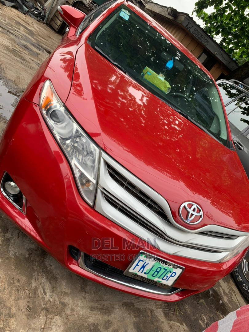 Toyota Venza 2013 Red