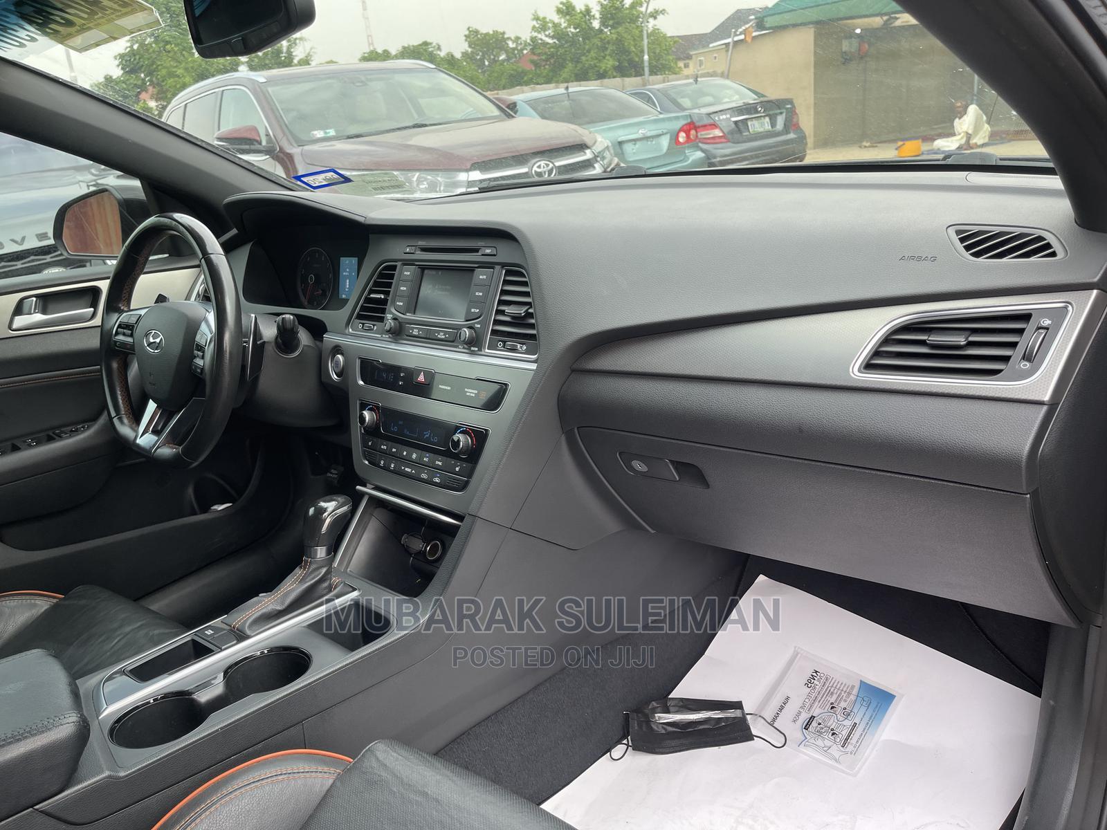 Hyundai Sonata 2015 Black | Cars for sale in Jahi, Abuja (FCT) State, Nigeria