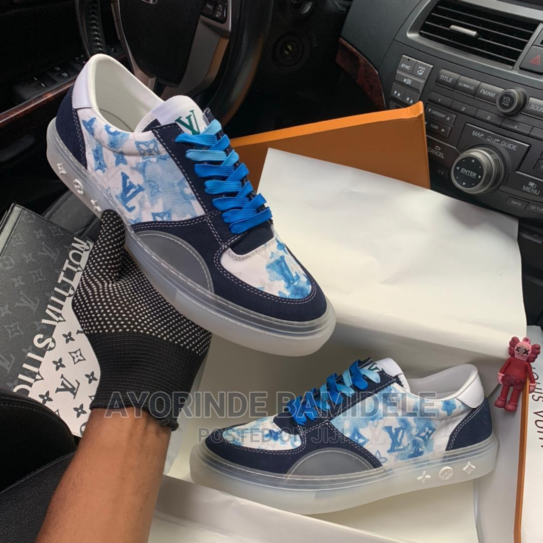 Louis Vuitton Jelly Sole Sneakers