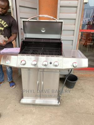 Stainless Steel Gas BBQ Grill Machine | Restaurant & Catering Equipment for sale in Lagos State, Ojo