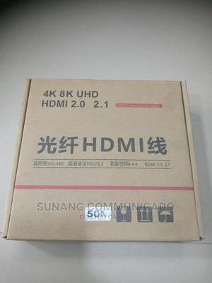 Hdmi Fibre Cable 50m | Accessories & Supplies for Electronics for sale in Lagos State, Ikeja