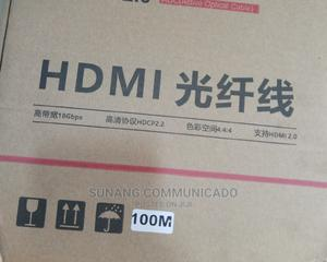 Hdmi Cable Fiber 100m | Accessories & Supplies for Electronics for sale in Lagos State, Ikeja