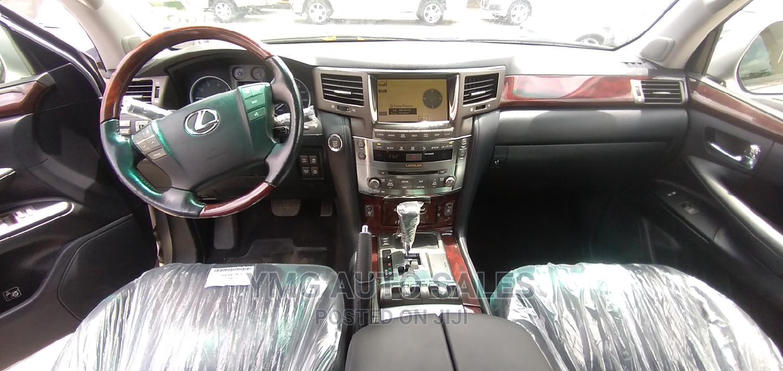 Archive: Lexus LX 2011 570 Silver