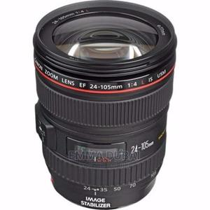 Canon RF 24-105mm F/4l IS USM Lens | Accessories & Supplies for Electronics for sale in Lagos State, Ikeja