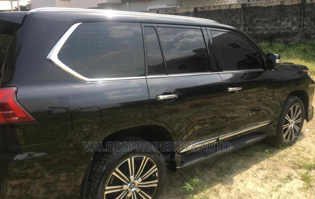 New Lexus LX 2020 570 Three-Row Black   Cars for sale in Victoria Island, Lagos State, Nigeria