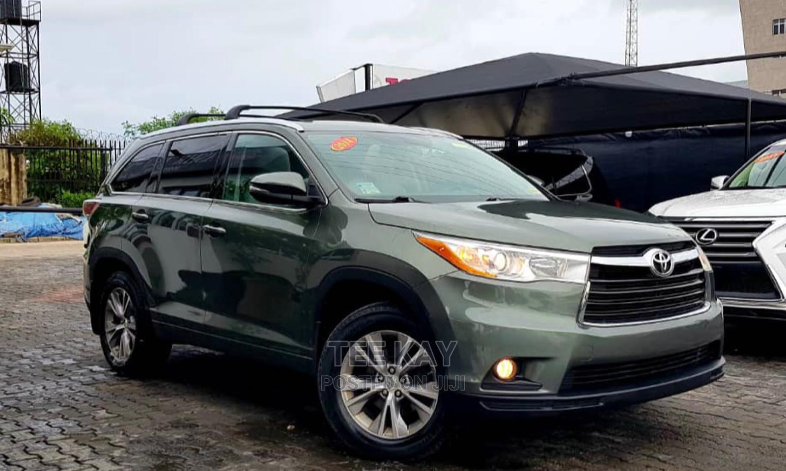 Toyota Highlander 2014 Green | Cars for sale in Lekki, Lagos State, Nigeria
