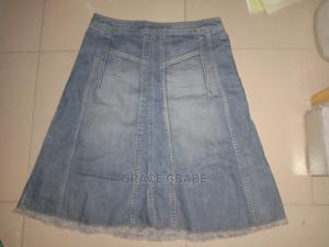 Short Jean Skirt   Clothing for sale in Lagos State, Egbe Idimu