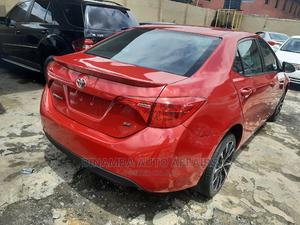 Toyota Corolla 2017 Red   Cars for sale in Lagos State, Surulere