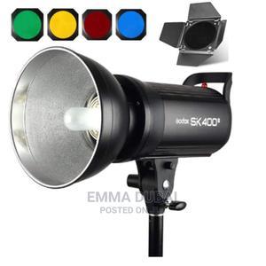 Godox SK400II Professional Studio Flash Strobe Light + Barn | Accessories & Supplies for Electronics for sale in Lagos State, Ikeja