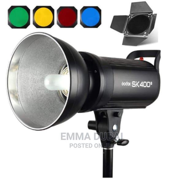 Godox SK400II Professional Studio Flash Strobe Light + Barn
