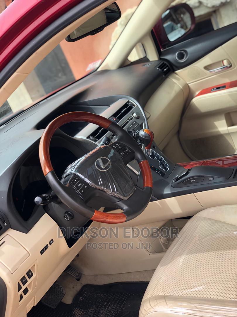 Lexus RX 2010 350 Red   Cars for sale in Warri, Delta State, Nigeria