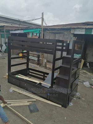 4fit/6fit Double Decker Bedframe | Children's Furniture for sale in Lagos State, Oshodi