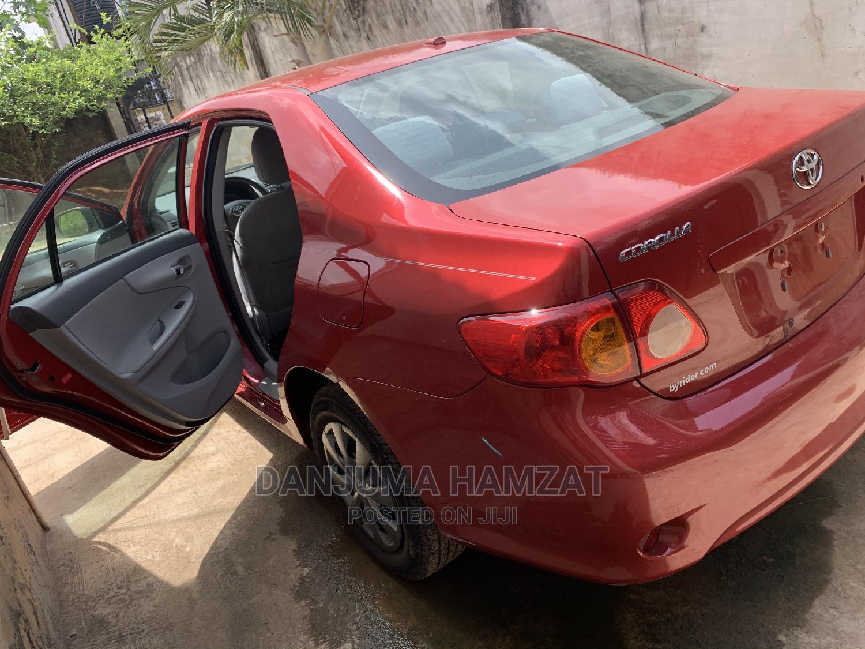 Toyota Corolla 2010 Red | Cars for sale in Ifako-Ijaiye, Lagos State, Nigeria