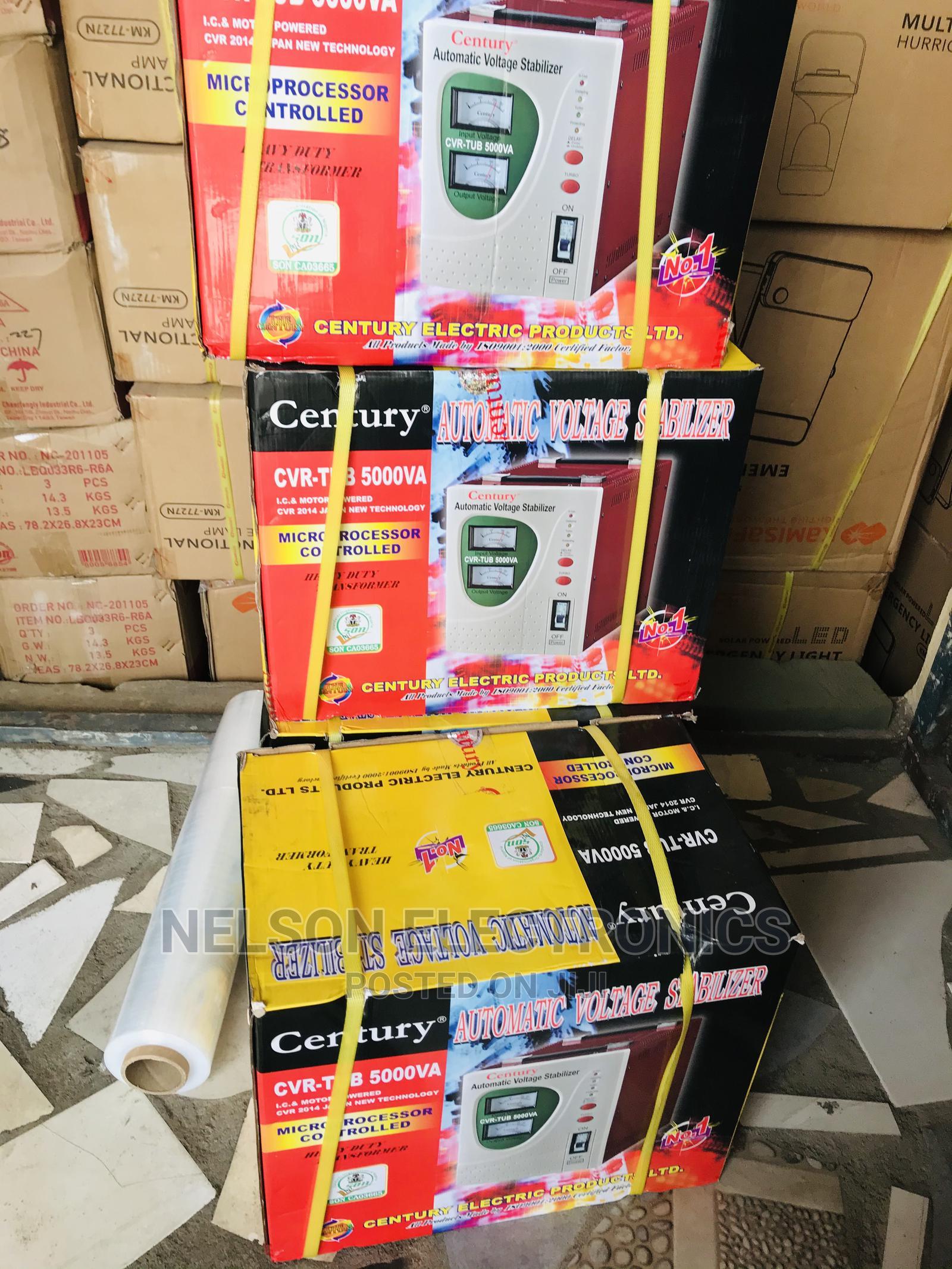 Century Automatic Voltage Stabilizer - 5000va/5000watt