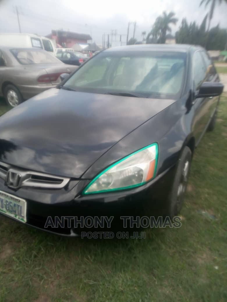 Archive: Honda Accord 2004 Automatic Black
