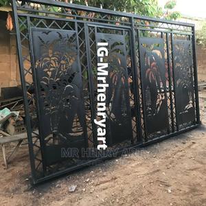 Plasma Cut Sliding Gate   Doors for sale in Lagos State, Ibeju