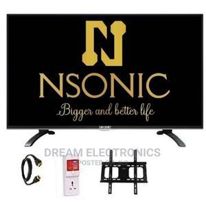Nsonic 43-Inch Full HD LED TV + Free Hanger TV Guard   TV & DVD Equipment for sale in Lagos State, Ajah