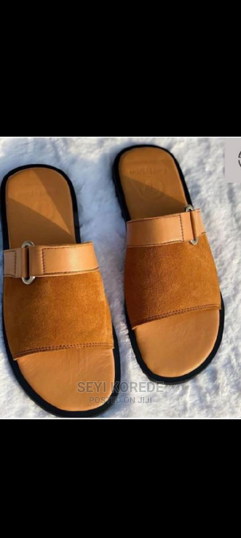 Archive: Men Suede Brown Sandals.