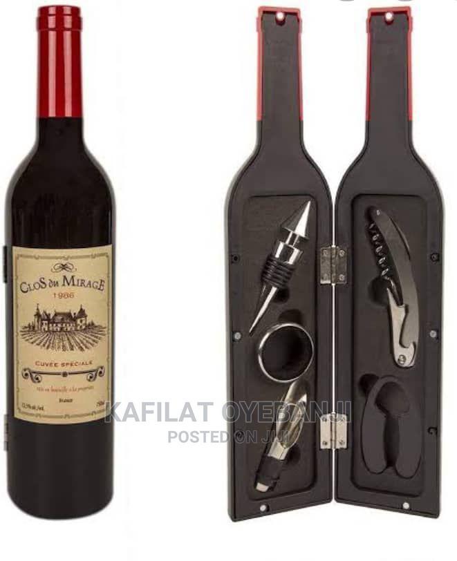 Wine Bottle Shape Wine Opener