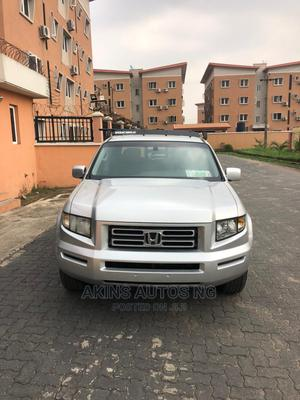 Honda Ridgeline 2007 Silver | Cars for sale in Lagos State, Ogba