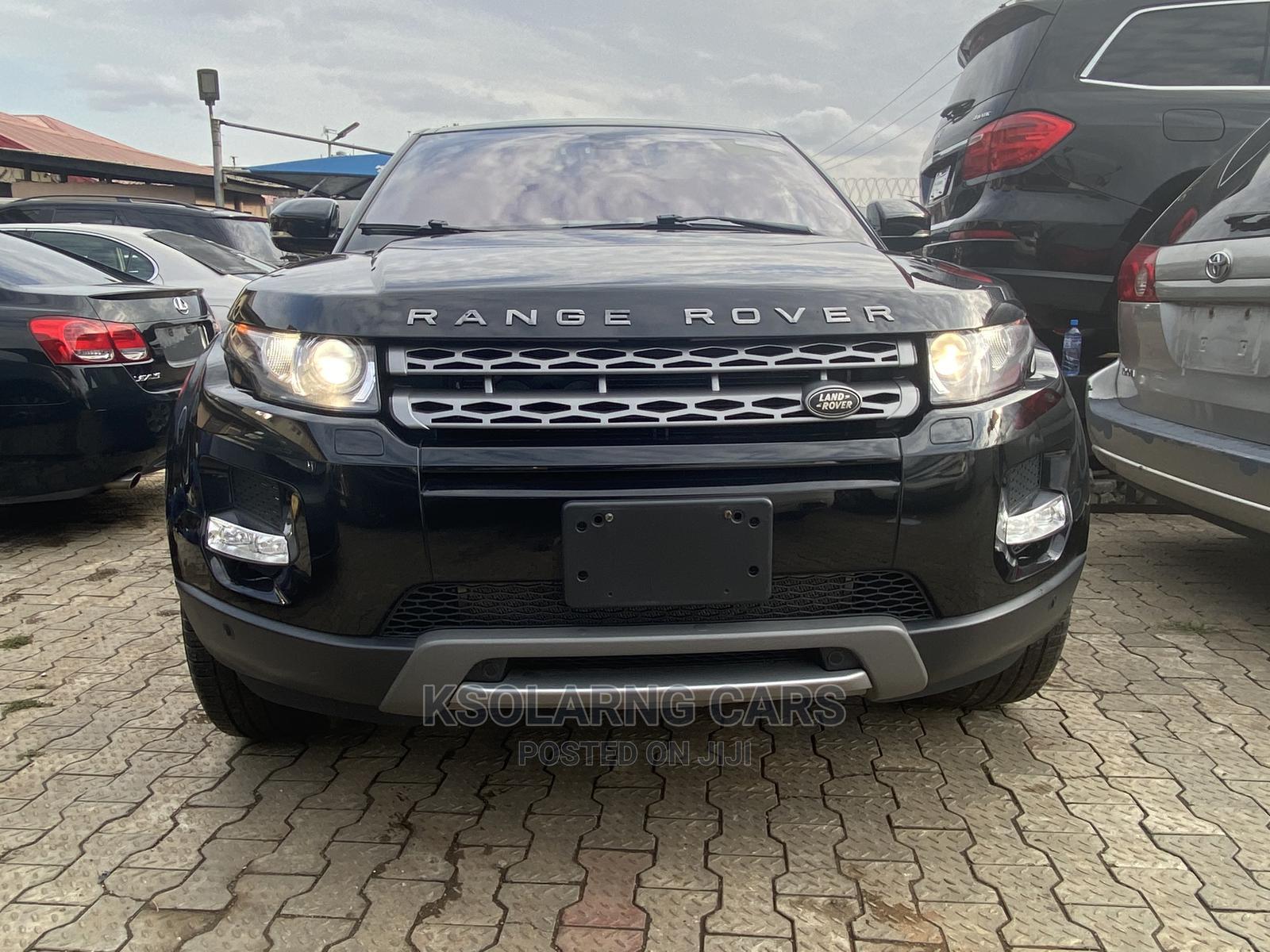 Land Rover Range Rover Evoque 2013 Pure Plus AWD Black   Cars for sale in Ikeja, Lagos State, Nigeria
