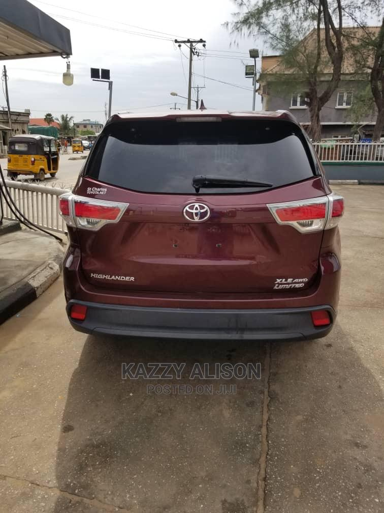 Toyota Highlander 2014 Red | Cars for sale in Ikeja, Lagos State, Nigeria
