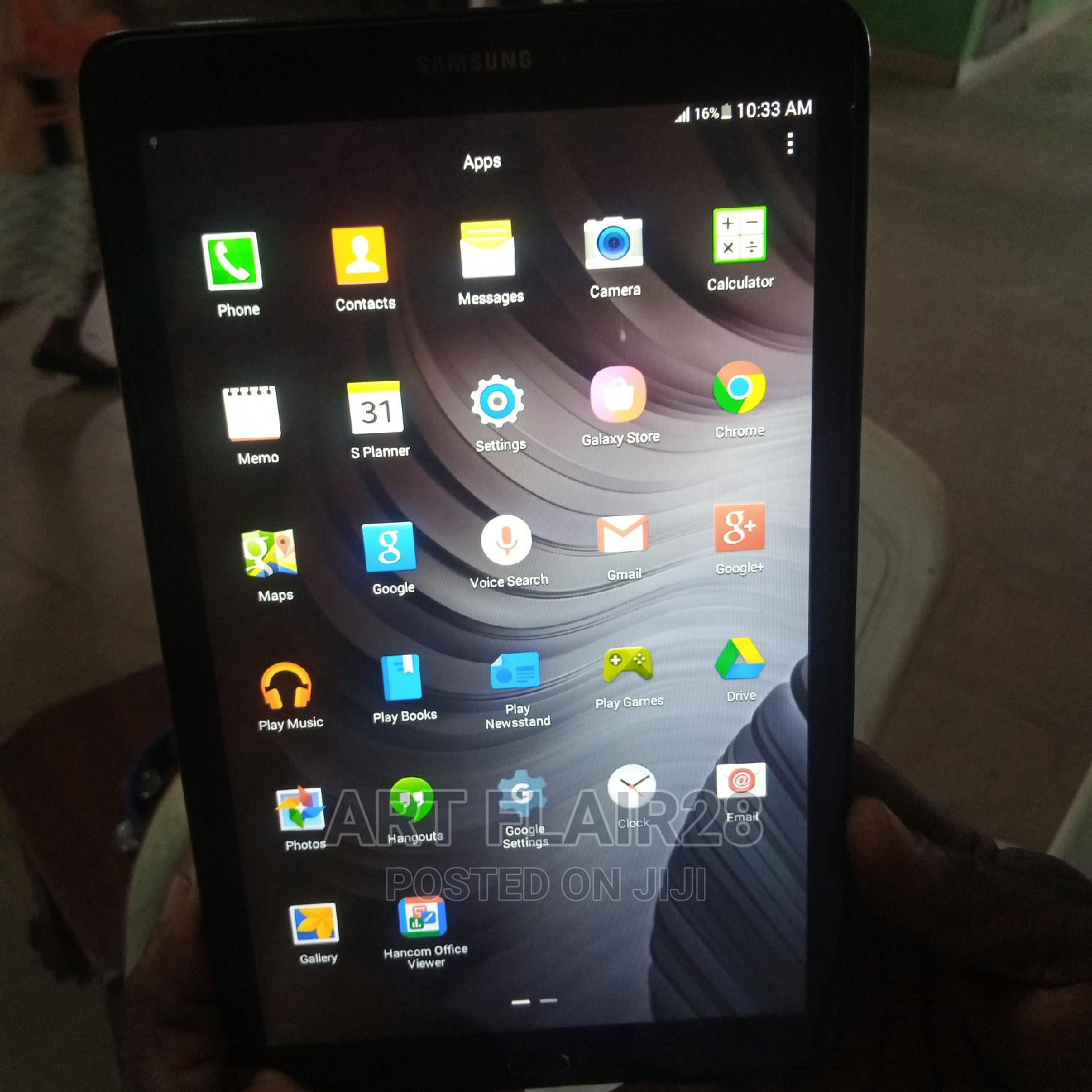 Samsung Galaxy Tab E 9.6 8 GB Black | Tablets for sale in Port-Harcourt, Rivers State, Nigeria
