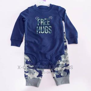 Baby Boy Bodysuit and Joggers Set   Children's Clothing for sale in Lagos State, Surulere