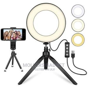 Selfie Ringlight With Handheld Stand   Accessories & Supplies for Electronics for sale in Lagos State, Ikeja