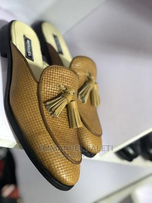 Golden Brown Half Shoes With Tassel | Shoes for sale in Lagos State, Mushin