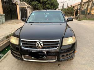 Volkswagen Touareg 2008 3.6 Black   Cars for sale in Lagos State, Lekki