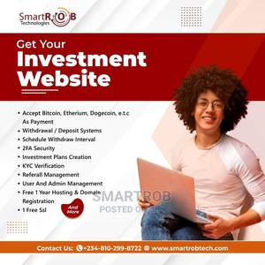 Investment Website | Computer & IT Services for sale in Lagos State, Surulere