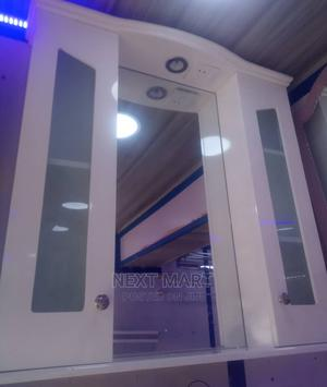 Bimix Two Door Cabinet Mirror White   Furniture for sale in Lagos State, Orile