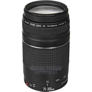 Canon EF 75-300mm F/4-5.6 III Telephoto Zoom Lens | Accessories & Supplies for Electronics for sale in Lagos State, Ikeja