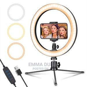 """LED Ring Light 10"""" With Tripod Stand 