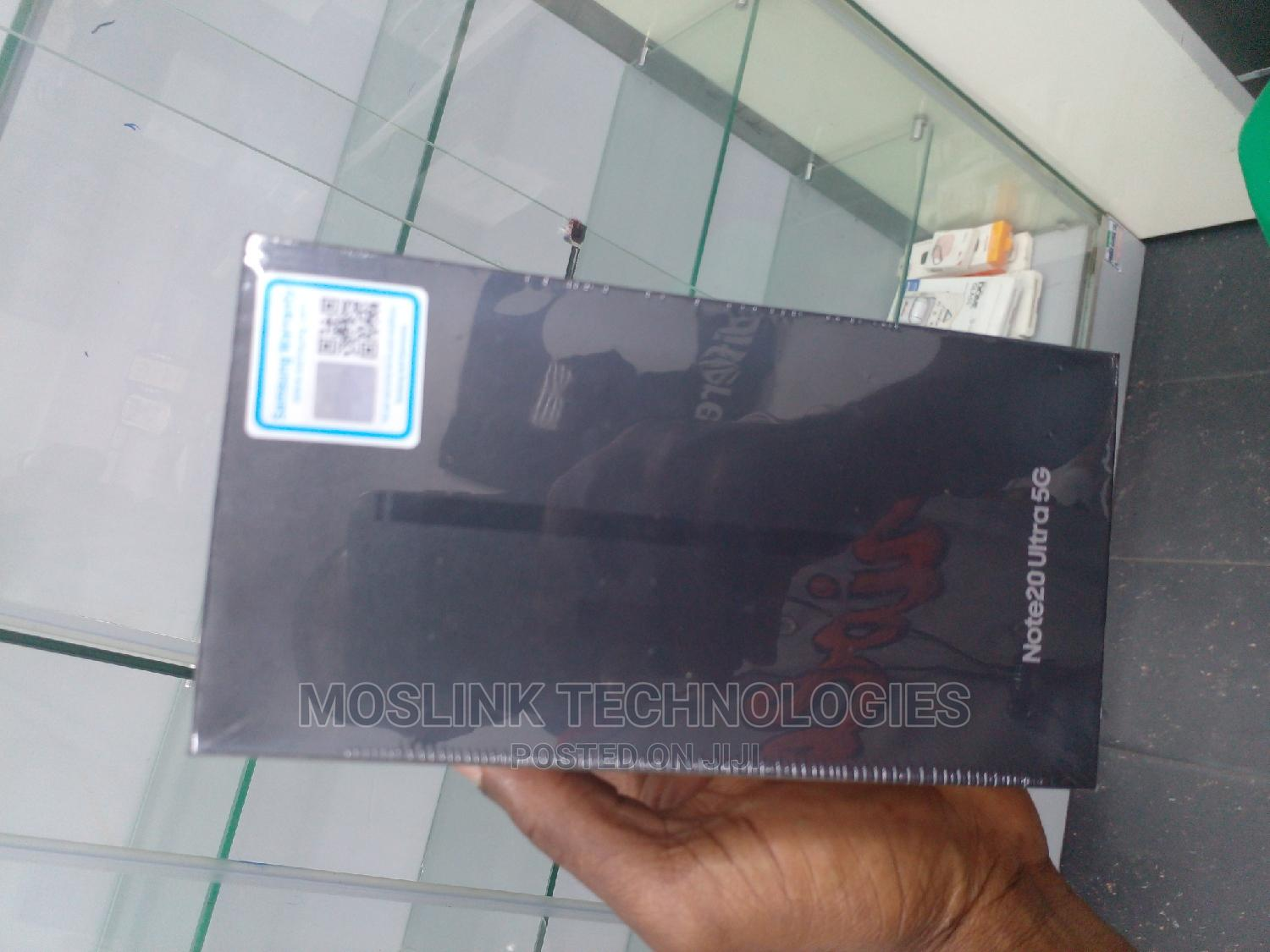 New Samsung Galaxy Note 20 Ultra 5G 128GB Silver   Mobile Phones for sale in Ikeja, Lagos State, Nigeria