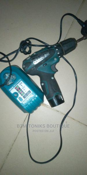 Makita Cordless Drill With Battery Charger | Electrical Hand Tools for sale in Lagos State, Oshodi