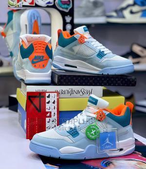 Air Jordan IV Retro Union LA ' Blue Tuesday '* | Shoes for sale in Lagos State, Ikeja