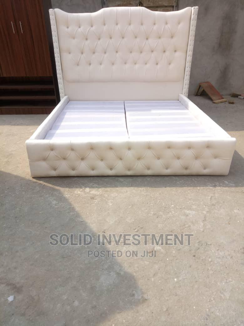 Archive: 6/6 Upholstery Padded Bedframe ,Nd One Side Drawer