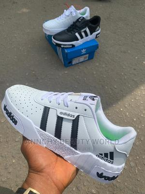 White Which Black Adidas Original Sneakers | Shoes for sale in Lagos State, Yaba