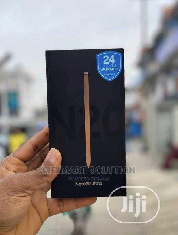 New Samsung Galaxy Note 20 Ultra 5G 128GB   Mobile Phones for sale in Ikeja, Lagos State, Nigeria